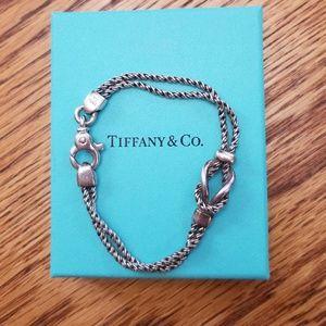 Authentic Tiffany & Co Double Knot Bracelet